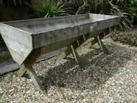 Raised veg trough/trug/planter