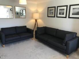 Ikea Karlstad Sofa's