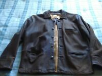Leather/Nubuck Gents Jacket