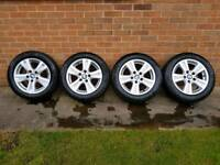 BMW 1-Series 16inch alloy wheels Continental tyres