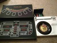 Casino Game Set 3 in 1 Never Used