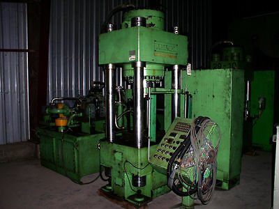 Dongsung 300 Ton Hydraulic Press 4-post Down-acting Type With Ejectorcushion