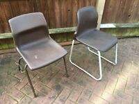 20 chairs approx - plastic