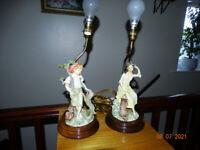Stylish lamp set
