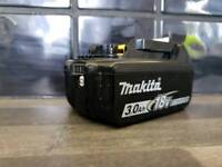 MAKITA 18v LXT LI-ION BL1830b (3AH) (BATTERY GAUGE) ,,,,,,DeWALT