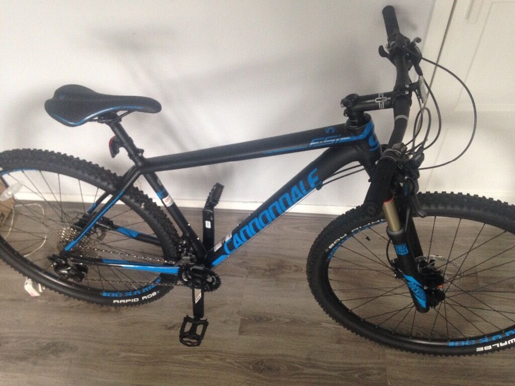 Cannondale F SI 3 mountain bike 2017 hard tail MTBcannondale quick 3disk 2017 hybrid bikein ManchesterGumtree - Both bikes are basically brand new only ridden a couple of times and reason for selling is that Im moving abroad and dont have the space to take them. In excellent condition as can see. cannondale F SI 3 2017 MTB was baught for £1399.99 just a...