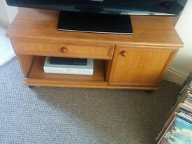 Solid Wood TV Cabinet. VGC