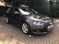 2009 59 AUDI A3 1.9TDI E SPORTS 5 DOOR, IMMACULATE CONDITION £3650.00