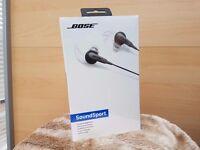 New Bose SoundSport In-Ear Headphones Sealed