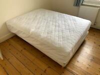 King Sized Mattress + Bed