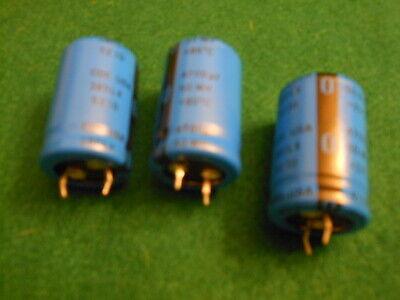 4pcs 4700uf 50v Cde 380lx Series 50v4700uf Snap-in Psu Capacitor Ships Usa