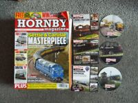 Job Lot of 17 Hornby Magazines and 3 DVDs