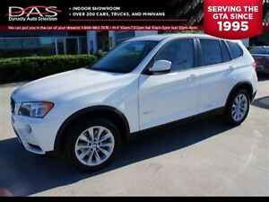 2013 BMW X3 xDrive28i AWD PREMIUM PKG/LEATHER