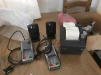 Contactless reader printer and scanner