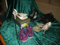 Bundle of lady's size 6 shoes- mainly heels. Offers considered