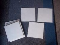 Wall Tiles x 33 (20cms x 20cms) Plain White - Garage Clear Out