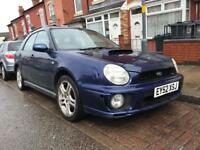 Subaru Impreza 2.0 WRX turbo Estate - Bug Eye - 2002 - Overheats - not Mitsubishi evo type r rs vrs