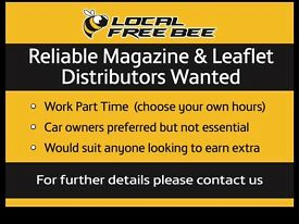Magazine & Leaflets Distributors Wanted
