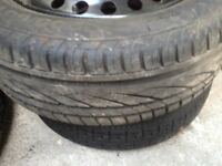 Cheap part worn and new tyres