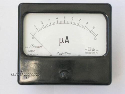 Microampere meter 10uA