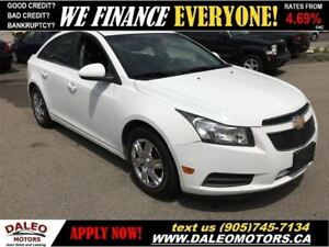 2012 Chevrolet Cruze LT Turbo | 1.4 L - ECONOMICAL | SAVE ON FUE