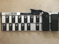 Behringer FCB1010 MIDI pedalboard/foot controller