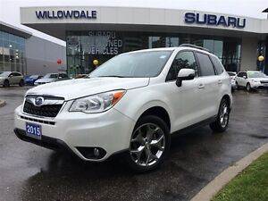 2015 Subaru Forester 2.5i Limited Package w/Technology Pkg Optio