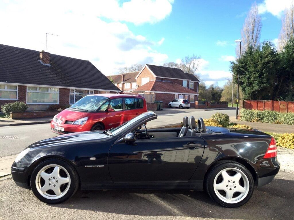Mercedes benz slk 2 3 slk230 kompressor 2000 w reg for Mercedes benz slk230 kompressor