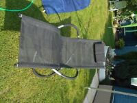 Moon rocker garden chair -as new !