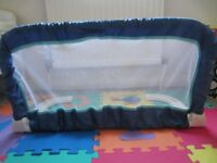 Safety 1st Blue Bed Rail in Excellent Condition