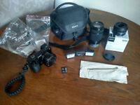 Sony Alpha A6000 24.3MP Digital Camera /w THREE LENSES and Accessories!