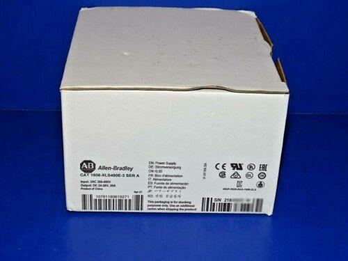 2021 NEW IN ORIGINAL BOX Allen Bradley 1606-XLS480E-3 /A Power Supply