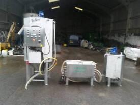 Bio diesel manufacturing plant three phase