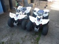NE ED SUZUKI QUADS FOR MY KIDS XM AS