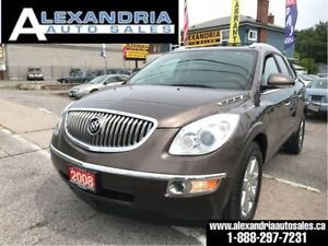 2008 Buick Enclave CXL/navi/leather/sunroof/clean/safety include