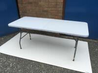 Heavy Duty Folding Table Redwood Leisure 1.80m