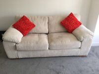 3 seater sofa excellent condition only used for few weeks. Smoke free home. Collection Donaghadee.