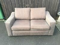 Fabric Sofa Bed ( Can Deliver )
