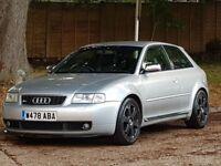 Audi S3 Quattro (225) Turbo (2000/W Reg) + GENUINE 119K + XENONS + RECARO LEATHER + WINTER PACK +4X4