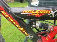 Raleigh Crossfire Childs Bike 16 inch wheels