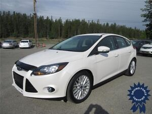 2013 Ford Focus Titanium 5 Passenger Front Wheel Drive Sedan