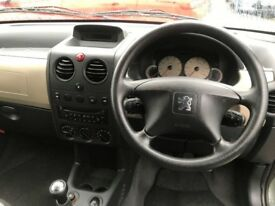 2007 (57 reg) Peugeot Partner 1.6 HDi Escapade 5dr MPV Turbo Diesel 5 Speed Manual