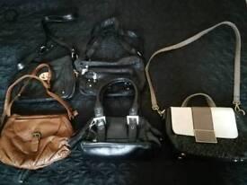 Job lot of handbags