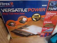 110v Wet Cut Tile cutter and Lead ..Still boxed