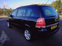 7 SEATER VAUXHALL ZAFIRA IN VERY CLEAN CONDITION. 1 YEAR MOT. ALL PREVIOUS MOT AVAILABLE. 2 KEYS.