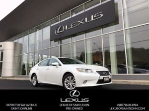 2014 Lexus ES 350 with Navi and sunroof