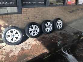 Tyres and alloys