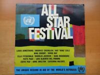 ALL STAR FESTIVAL -The Uniqe record in aid of the world's refugees. CLEARANCE
