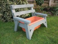 BENCH PLANTERS.......fair offers....