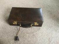 Italian leather cartridge case